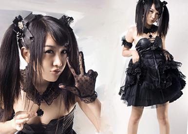 Gothic lolita tribu urbana japonesa