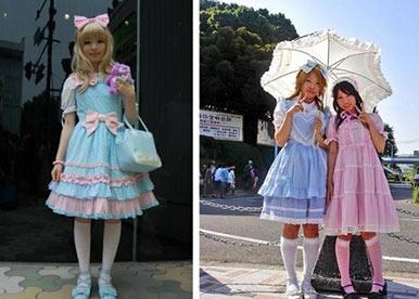 sweet lolita tribus urbanas japonesas